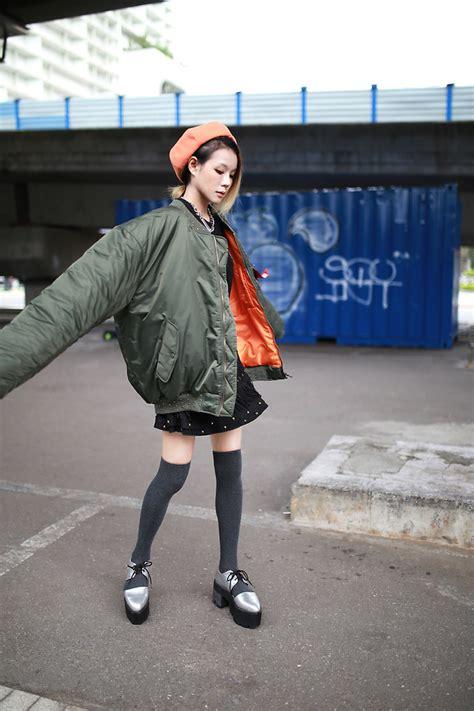 möbel industrie look miriam mibao alpha industries ma 1 flight jacket ma 1 in oversize lookbook
