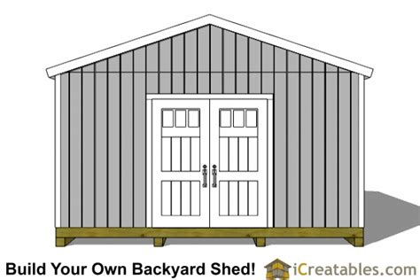 icreatables  shed materials list joy studio design