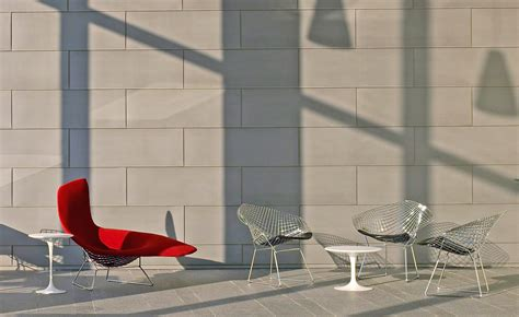bertoia chaise asymmetric chaise with cover hivemodern com