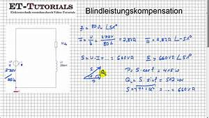 Blindleistung Berechnen Drehstrom : blindleistungskompensation youtube ~ Themetempest.com Abrechnung