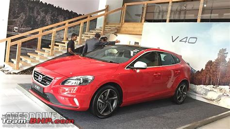 volvo  hatchback  india  launched team bhp