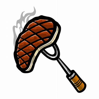 Steak Vector Ribs Bbq Clipart Meat Icon