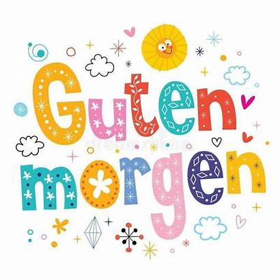 Morgen Guten German Morning Tedesco Buongiorno Deutsch