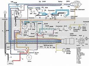 88 Bayliner Engine Wiring Diagram Page  1