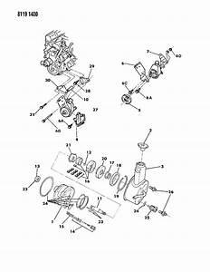 Dodge Pump  Power Steering Pulley  Brackets  Oil Cooler M Body