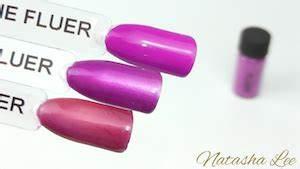 Magpie Neon Nail Pigments Natasha Lee