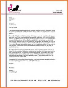 Sample Business Letter Examples