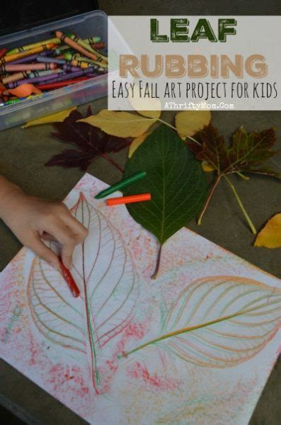 leaf projects easy fall art projects for kids