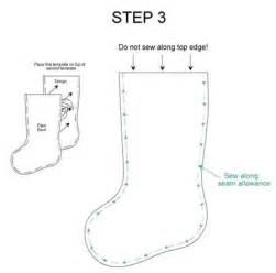 Christmas Stocking Pattern Template