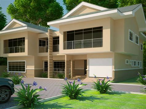House Plans Ghana  3, 4, 5, 6 Bedroom House Plans In Ghana