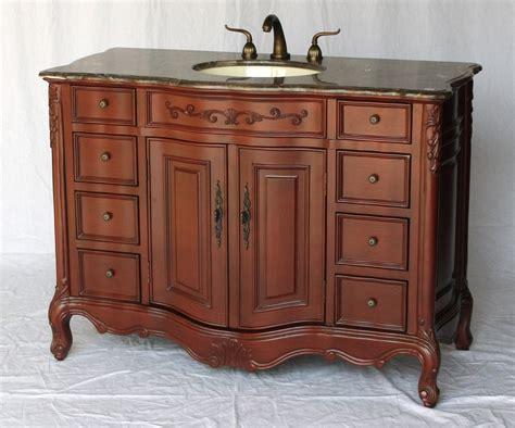 bathroom vanity traditional classic style cherry color wxdxh smxc