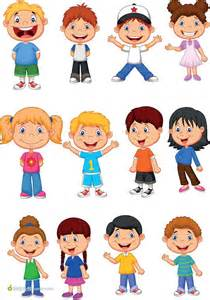 Cute Cartoon Children