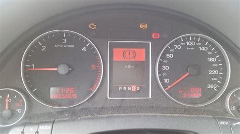 voyant moteur audi a3 voyant esp allum 233 audi a4 b6 sur les voitures