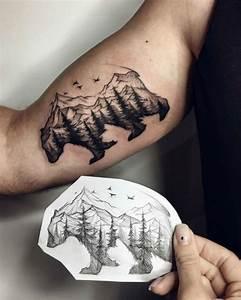 Tatouage Arriere Bras : tatouage bras ours id es de tatouages et piercings ~ Melissatoandfro.com Idées de Décoration