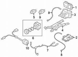 2017 Audi Q7 Camera Harness  Wire Harness  Camera System  Electrical  Telematics