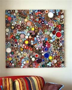 Hate junk mail make art ? dollar store crafts