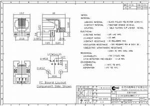 6p6c    6p4c    6p2c    90 Degree Rj11 Rj45 Shielded Connector Plastic Ethernet Single Port