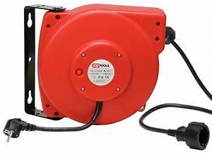 Enrouleur De Cable Electrique : enrouleur de c ble lectrique mural 20 m tres ks tools sur ~ Edinachiropracticcenter.com Idées de Décoration