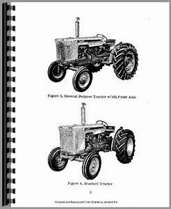 Case 430 Tractor Operators Manual