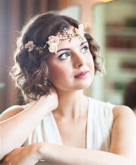 Wedding Hairstyles for Short Hair   hitched.co.uk