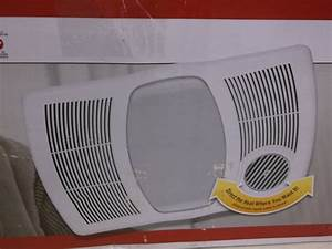 Nutone cfm ceiling bath light heater exhaust fan hfl