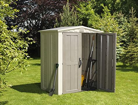 keter manor shed 5 x 6 ft keter factor plastic outdoor garden storage shed 6 x 3