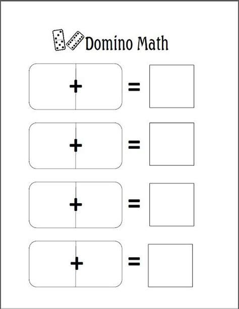 domino math math idea domino math