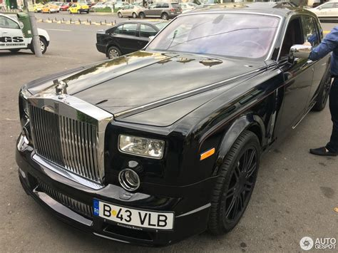 roll royce phantom 2016 rolls royce phantom mansory conquistador 5 october 2016