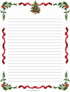 letter stationary printable printable pages With holiday letter stationary