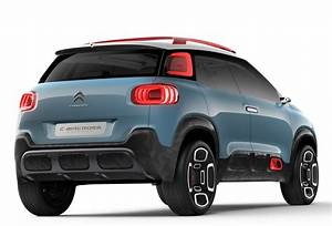 2018 Citroen C3 Aircross Leaked As A Scale Model