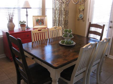 Life Love Larson New (old) Kitchen Table Staining