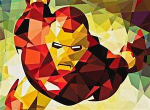 Marvel Geometric Superheroes by Eric Dufresne | HiConsumption
