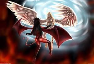 Ange Et Demon : ange et demon by surgeon art on deviantart ~ Medecine-chirurgie-esthetiques.com Avis de Voitures