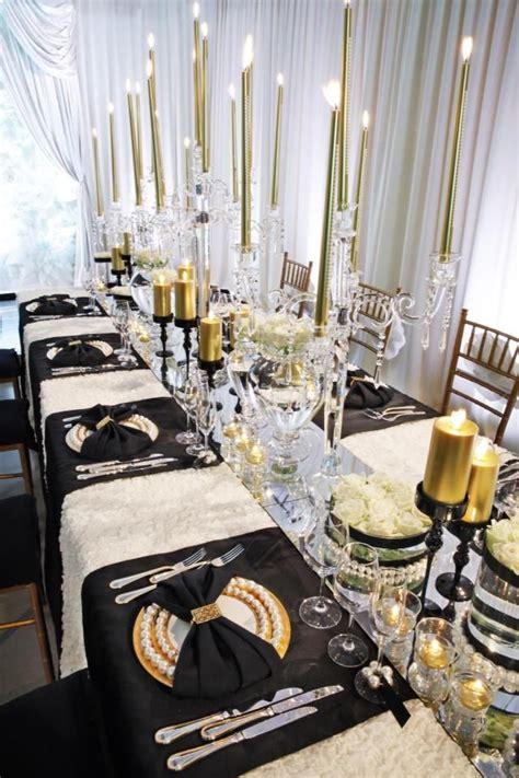 elegant black white gold change   gold