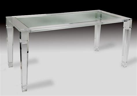 clear acrylic dining table maximize your space with acrylic furniture