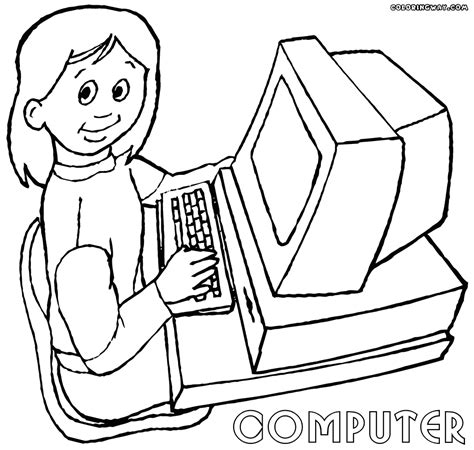 Coloring On Computer by Computer Coloring Pages Coloring Pages To And Print