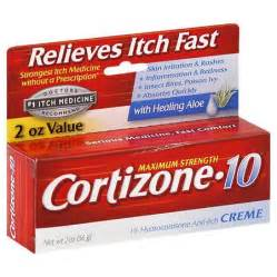 Cortizone 10 Maximum Strength Hydrocortisone Anti-Itch Cream 2.0oz. Cortisone