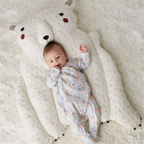 infant play mat polar baby play mat the land of nod