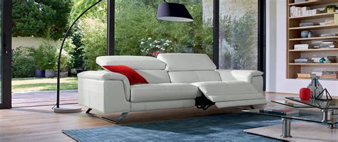 canapé home center canapés relax 3 4 ou 5 places en cuir cuir center