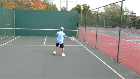tennis practice wall figure  drill youtube