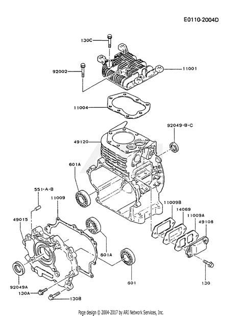 Kawasaki Fgd Stroke Engine Parts Diagram