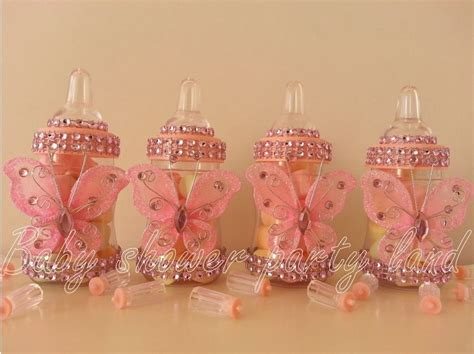 butterfly baby shower favors 12 pink fillable butterfly bottles baby shower favors