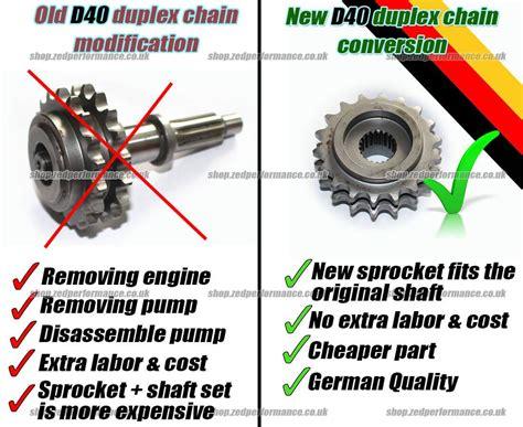navara d40 duplex timing chain conversion