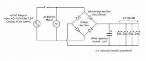 Wiring Diagram For Rectifier And Capacitor