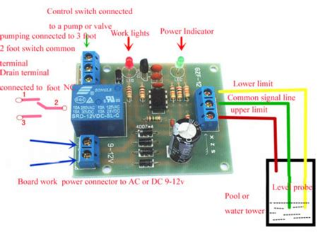 Liquid Level Controller Sensor Module Water