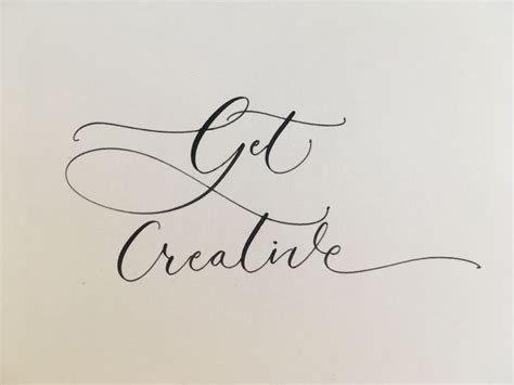 quill modern calligraphy images  pinterest