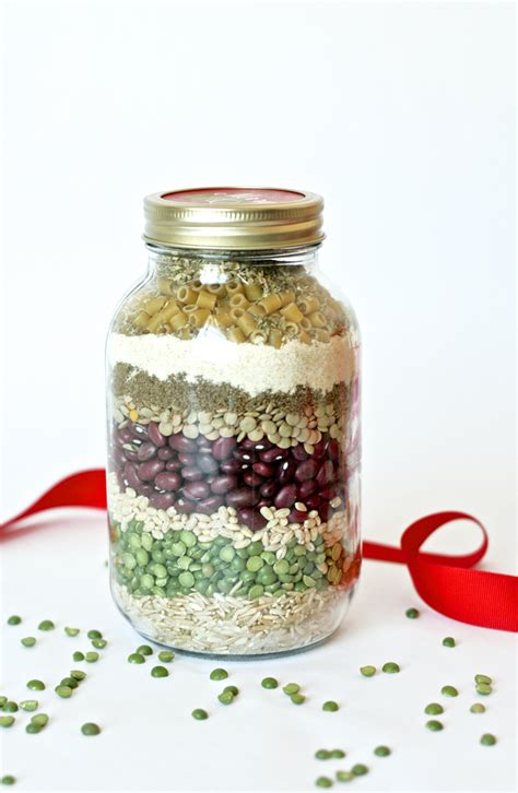 christmas in a jar happy holidays merry minestrone christmas soup in a jar tatertots and jello