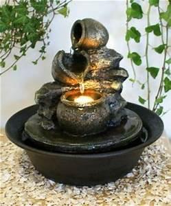 Tischbrunnen Mit Beleuchtung : dreistufiger zimmerbrunnen mit beleuchtung 40 99 ~ Orissabook.com Haus und Dekorationen
