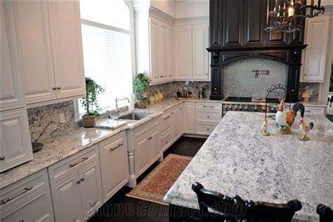 Absolute White   Andino White Granite Kitchen Countertop