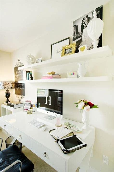 bureau ordinateur en coin déco un beau coin bureau